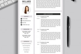 009 Archaicawful Resume Template M Word 2020 Highest Quality  Free Microsoft