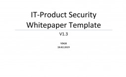 009 Archaicawful Technical White Paper Template Highest Quality  Information Technology Example Word Free Download