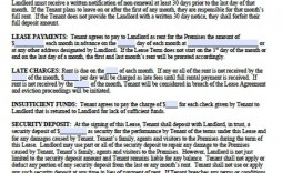 009 Archaicawful Tenant Contract Template Free Picture  Simple House Rental Tenancy Agreement Uk
