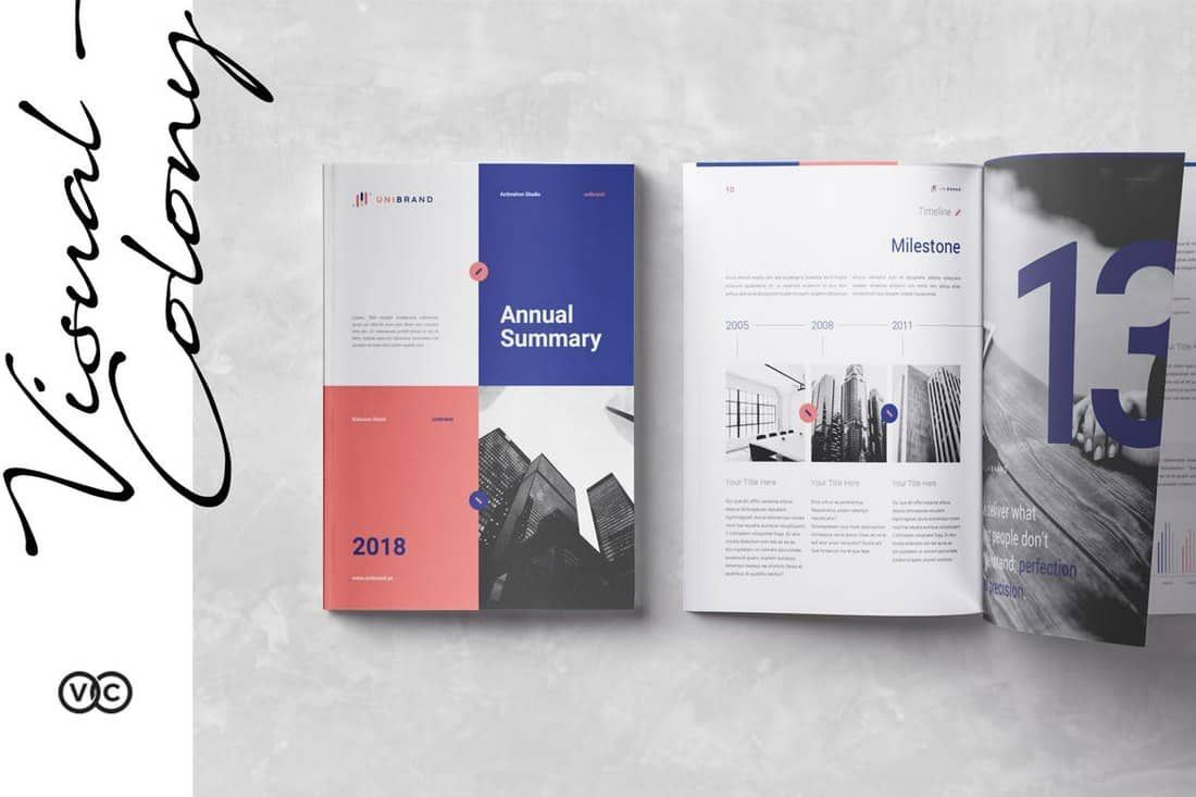 009 Astounding Annual Report Design Template Indesign High Definition  Free DownloadFull