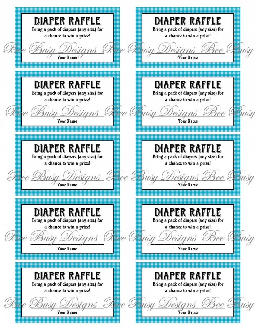 009 Astounding Diaper Raffle Ticket Template High Resolution  Boy Free Printable Print Black And WhiteLarge