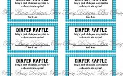 009 Astounding Diaper Raffle Ticket Template High Resolution  Boy Free Printable Print Black And White