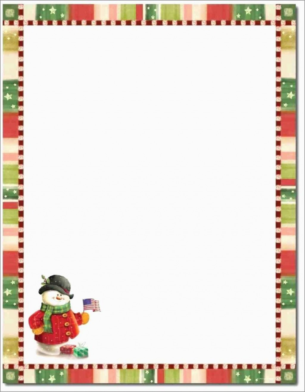 009 Astounding Free Christma Letter Template For Microsoft Word Concept  Downloadable NewsletterLarge