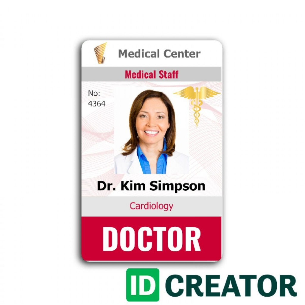 009 Astounding Id Badge Template Word High Definition  Free MicrosoftLarge