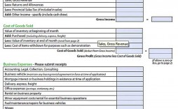 009 Astounding Monthly Busines Expense Template Image  Sheet Excel Pdf