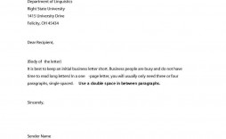 009 Astounding Sample Busines Letter Template Inspiration  Of Intent Formal Free