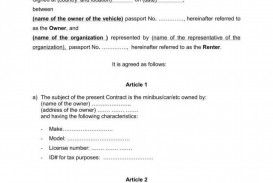 009 Astounding Template Car Rental Form Image  Free Agreement Checklist Inspection