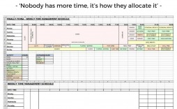 009 Astounding Time Management Schedule Template Example  Plan For Student Calendar Excel