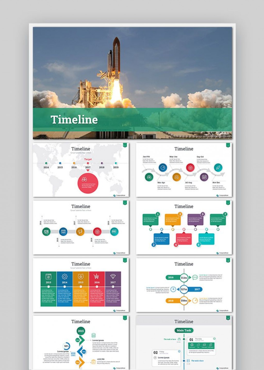 009 Astounding Timeline Template Presentationgo Highest Quality Large