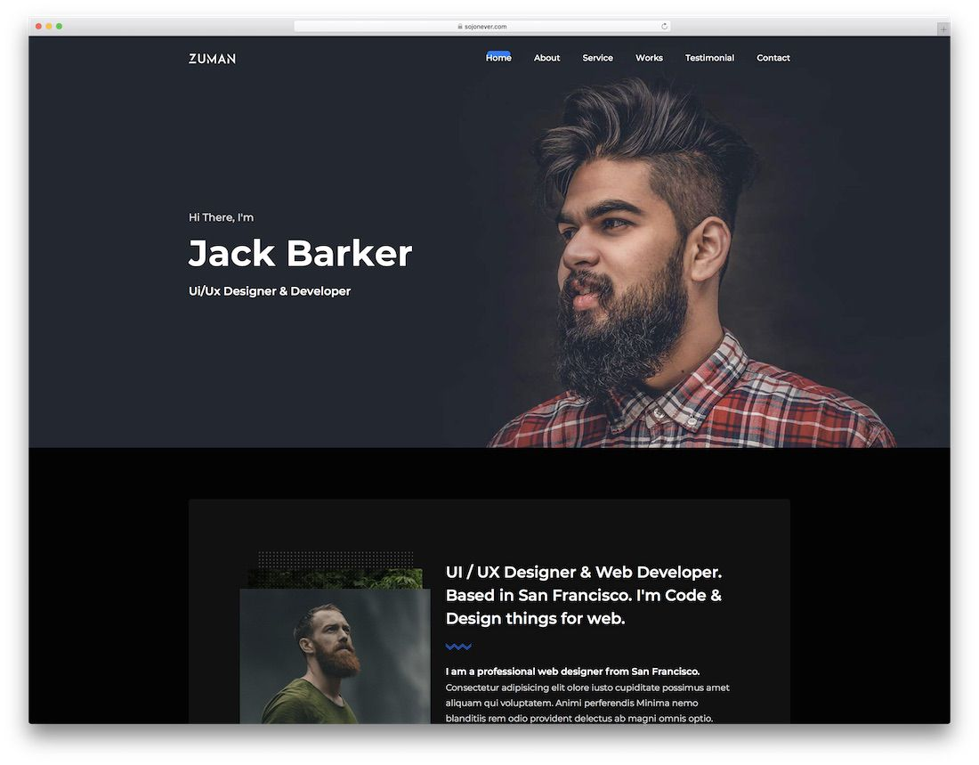 009 Astounding Web Developer Portfolio Template Highest Clarity  Templates Best Design Theme Free WordpresFull