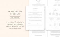 009 Astounding Wedding Photography Contract Template Canada High Resolution