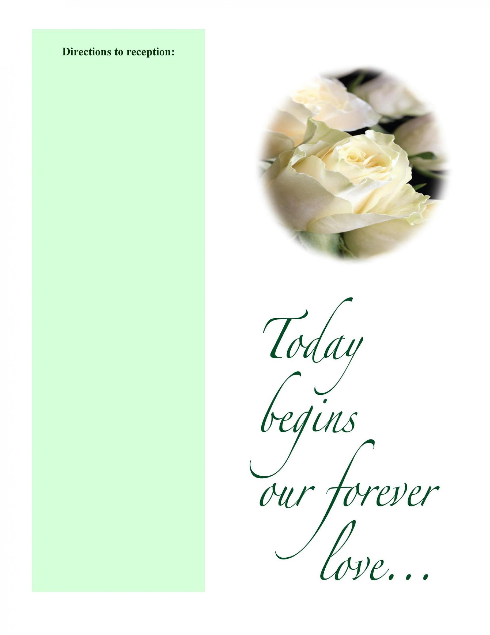 009 Astounding Wedding Program Template Free Download Highest Quality  Downloadable Fan Microsoft Word Printable Editable1920