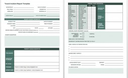 009 Astounding Workplace Incident Report Template Ontario High Def  Form