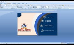 009 Awesome Busines Card Template Microsoft Word Highest Quality  Avery 8 Per Page How To Make A Layout On