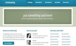 009 Awesome Dream Weaver Web Template Highest Quality  Templates