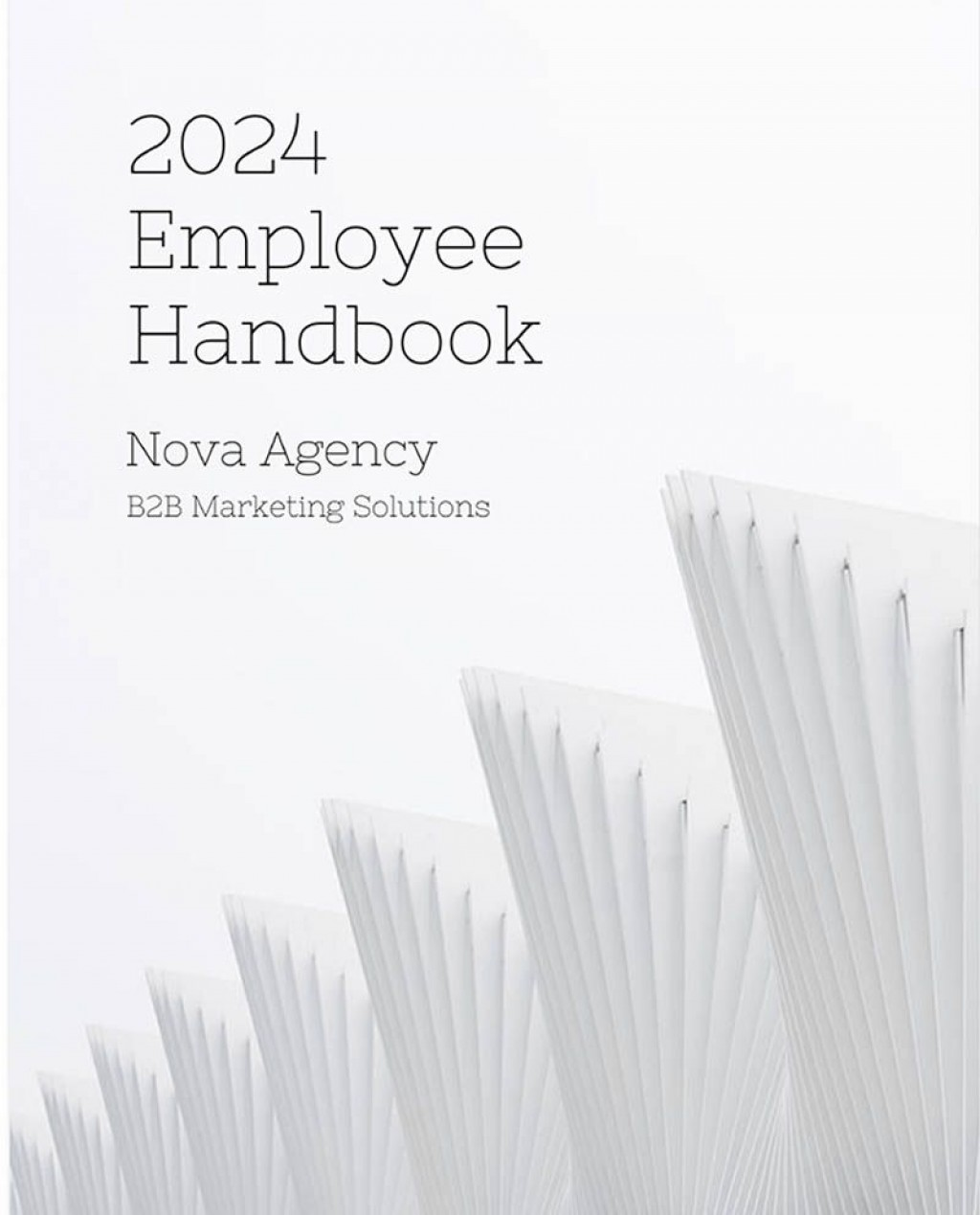 009 Awesome Employee Handbook Template Word Highest Quality  Nonprofit Free Sample In MalaysiaLarge
