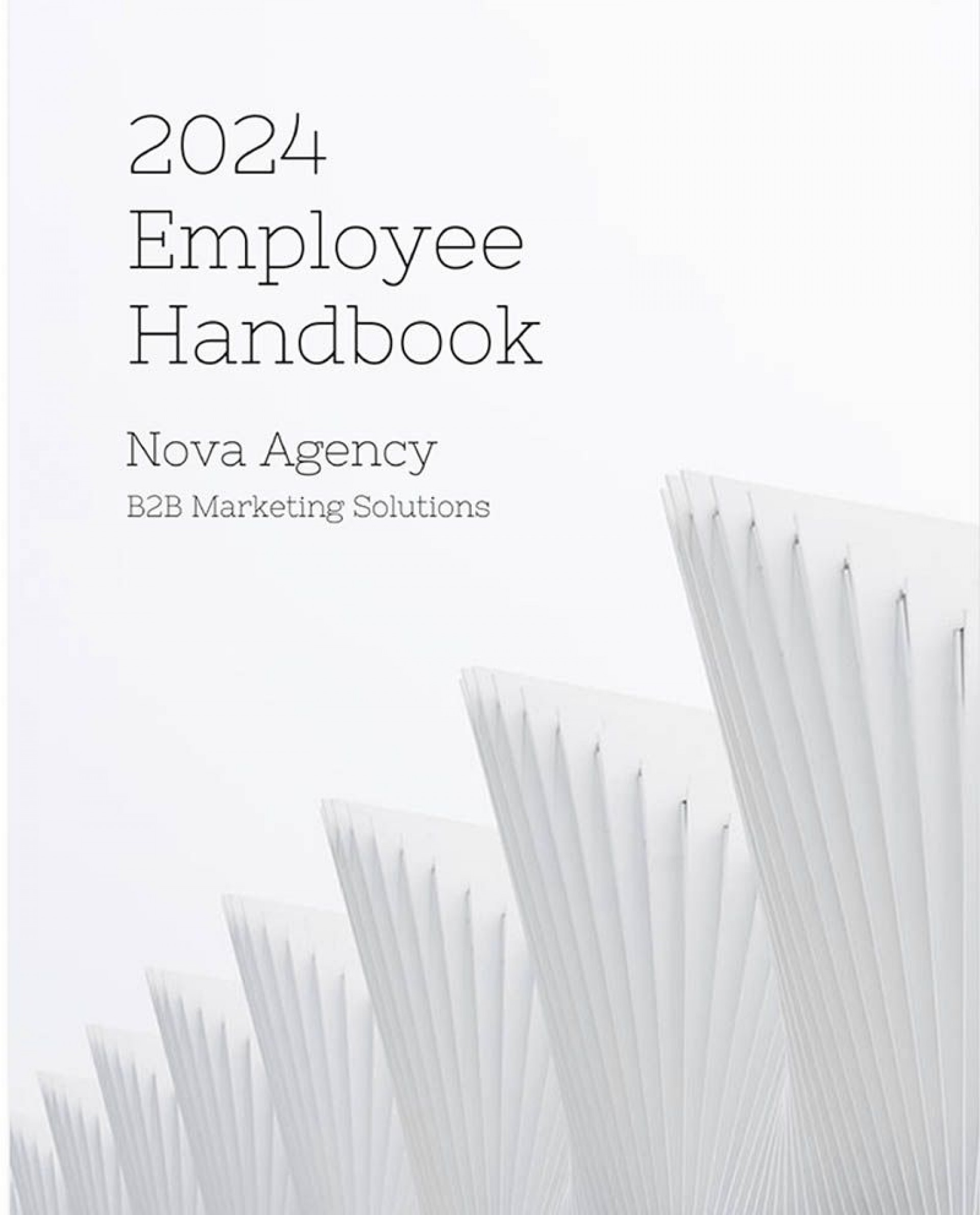 009 Awesome Employee Handbook Template Word Highest Quality  Nonprofit Free Sample In Malaysia1920