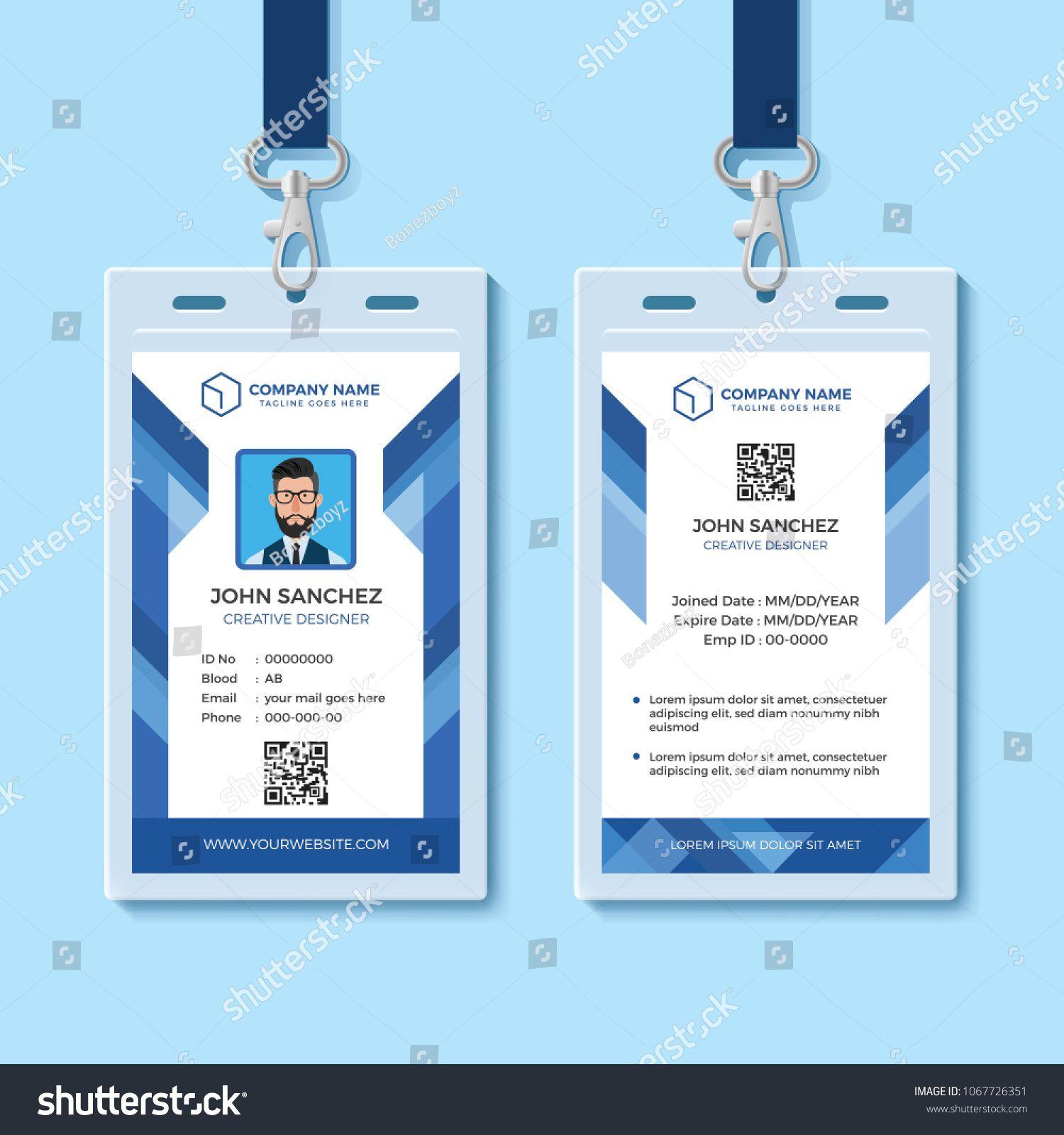 Employee Id Card Template