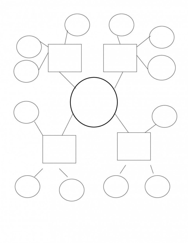009 Awesome Free Blank Concept Map Template Design  Printable NursingLarge