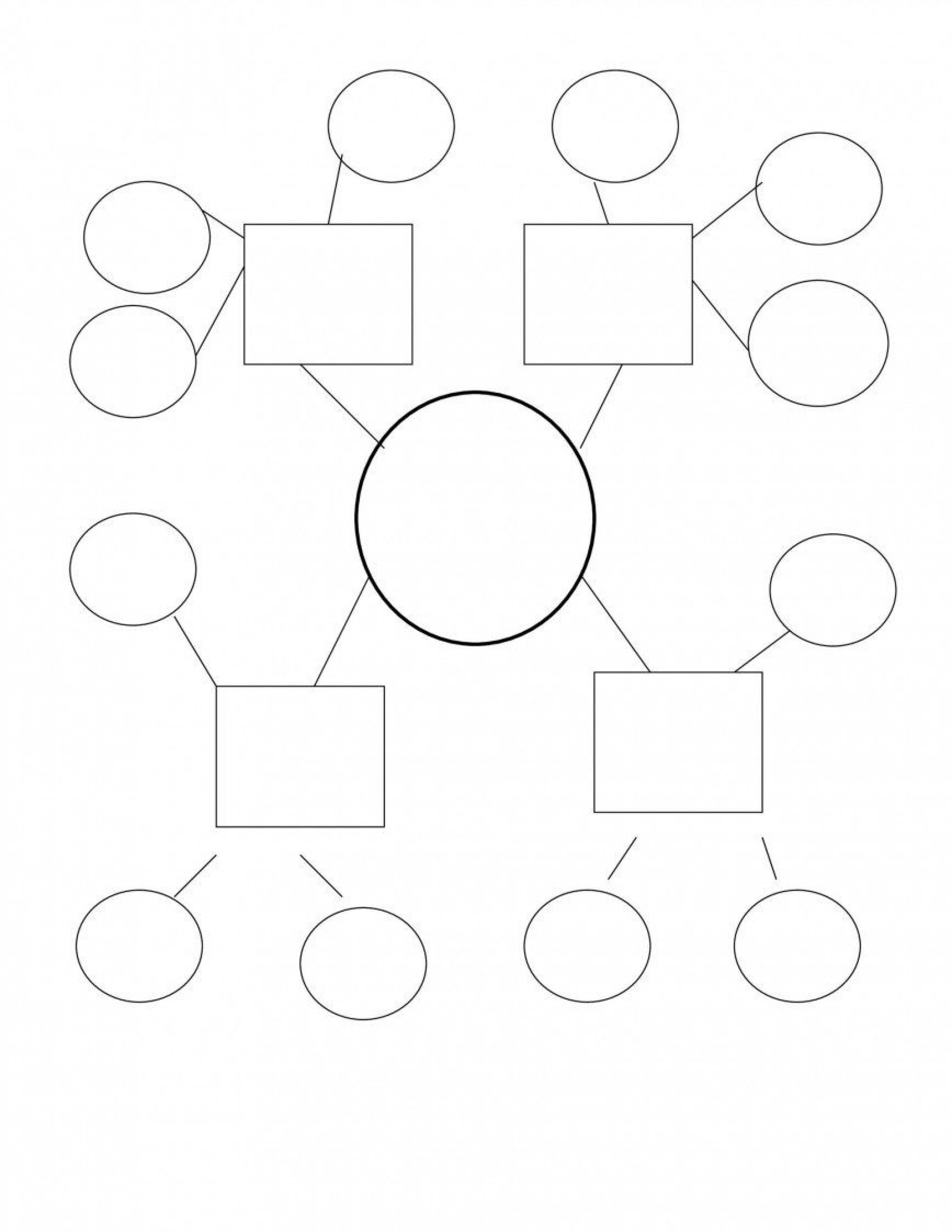 009 Awesome Free Blank Concept Map Template Design  Printable Nursing1920