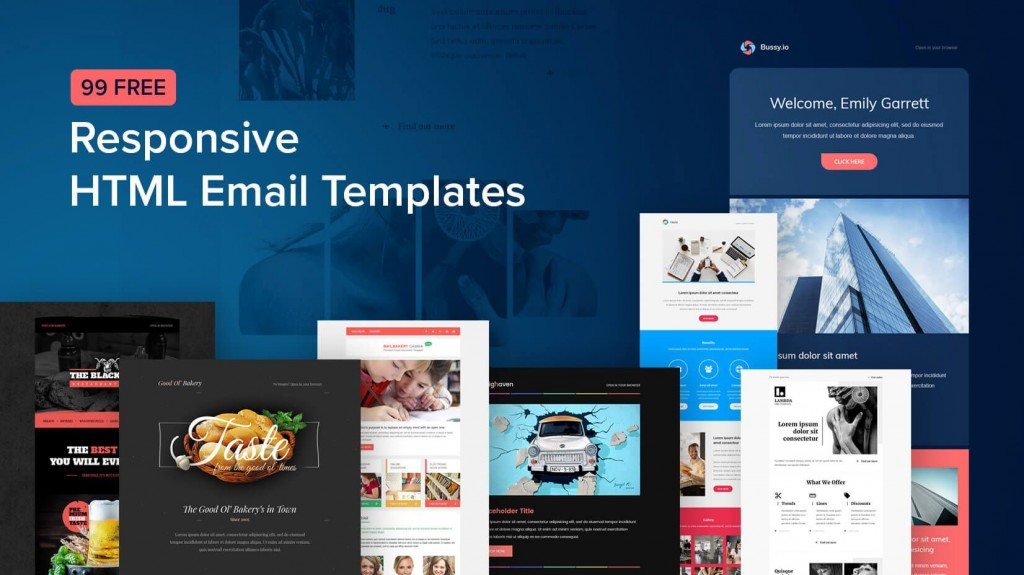 009 Awesome Free Responsive Html Email Template Download Highest Clarity  Simple App-responsive-notification-email-html-templateLarge