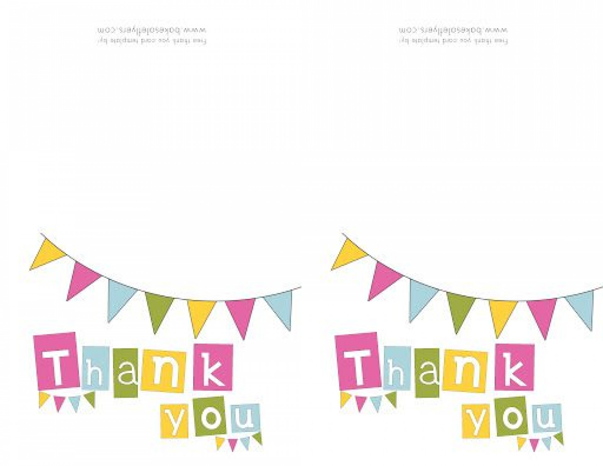 009 Awesome Free Thank You Note Template Word Picture  Card Download1920