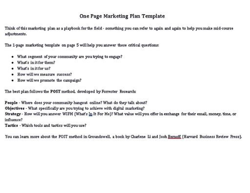 009 Awesome Hotel Sale And Marketing Action Plan Template High Resolution Large
