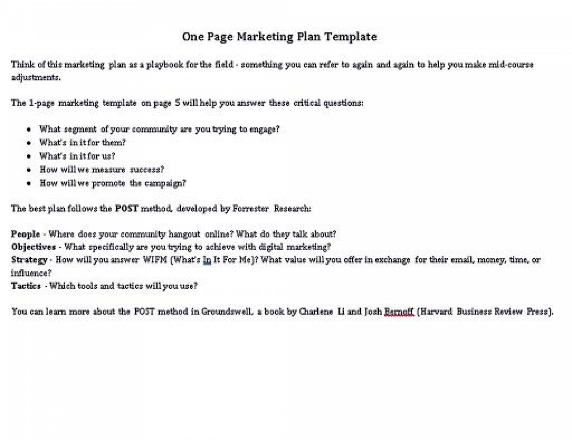 009 Awesome Hotel Sale And Marketing Action Plan Template High Resolution 1920
