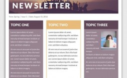 009 Awesome Microsoft Newsletter Template Free Idea  Word Classroom Outlook Publisher