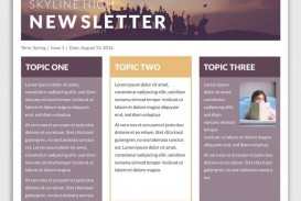 009 Awesome Microsoft Newsletter Template Free Idea  Powerpoint School Publisher Download