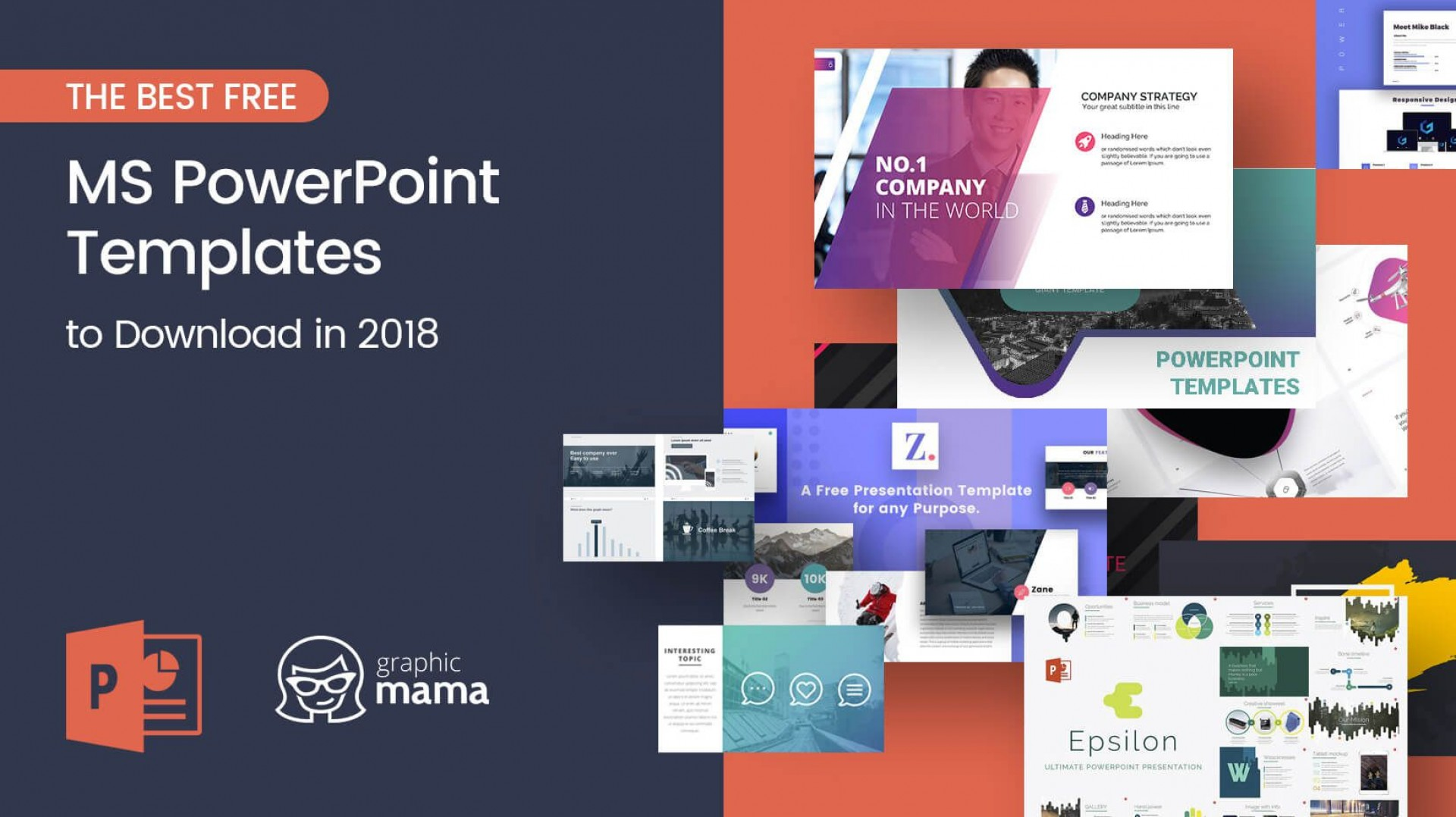 009 Awesome Power Point Presentation Template Free High Resolution  Powerpoint Layout Download 2019 Modern Busines1920