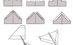009 Awesome Printable Paper Plane Plan Photo  Plans Airplane Free Design Instruction