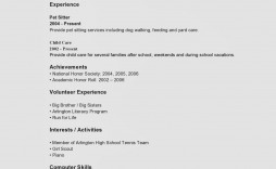 009 Awesome Resume Template For Teen Photo  Teens Teenager First Job Australia
