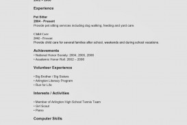 009 Awesome Resume Template For Teen Photo  Teenager First Job Australia
