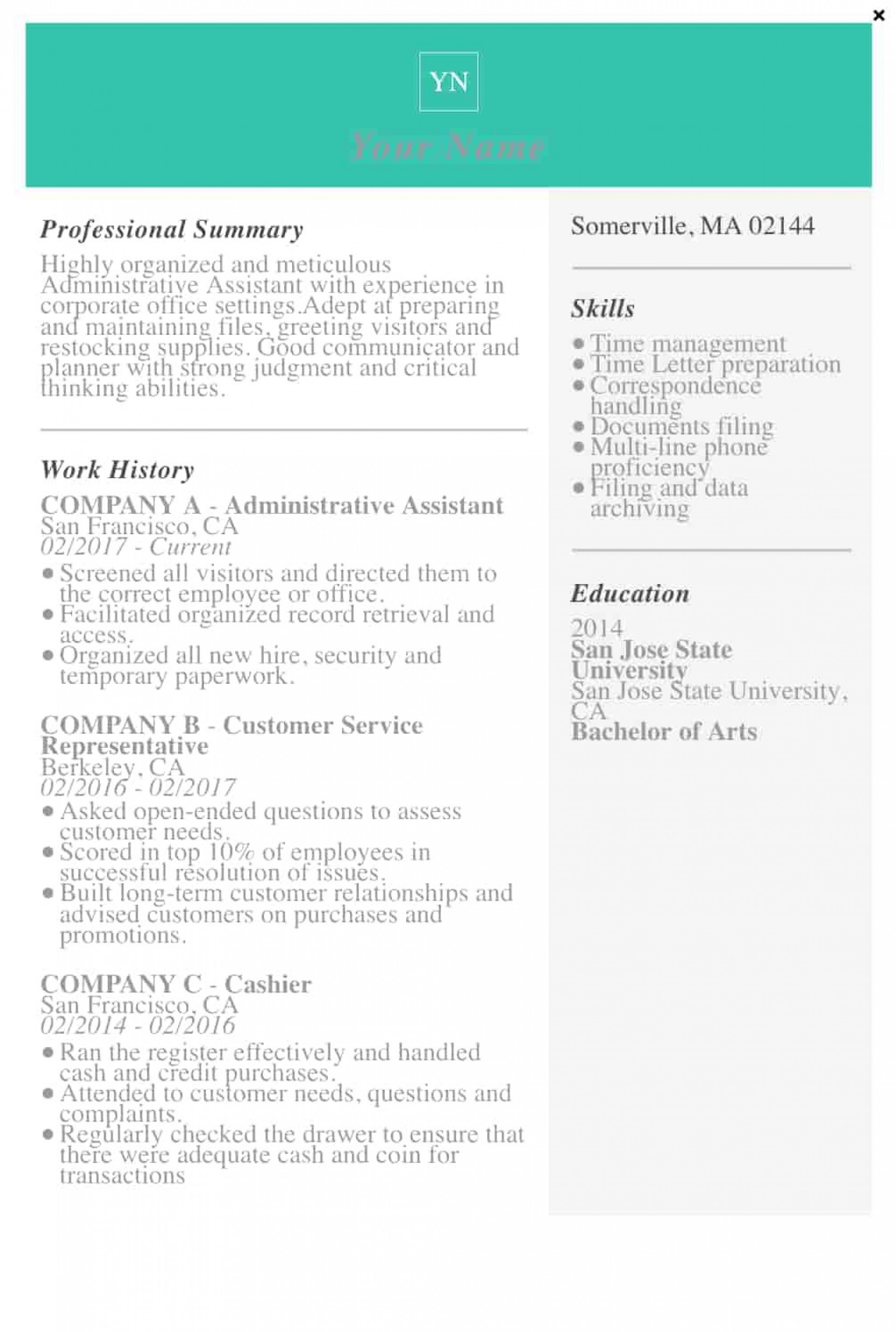 009 Awesome Resume Template Microsoft Word 2019 Picture  Free1920