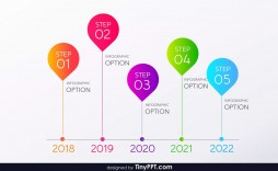 009 Awesome Timeline Template Powerpoint Free Download Example  Project Ppt Animated