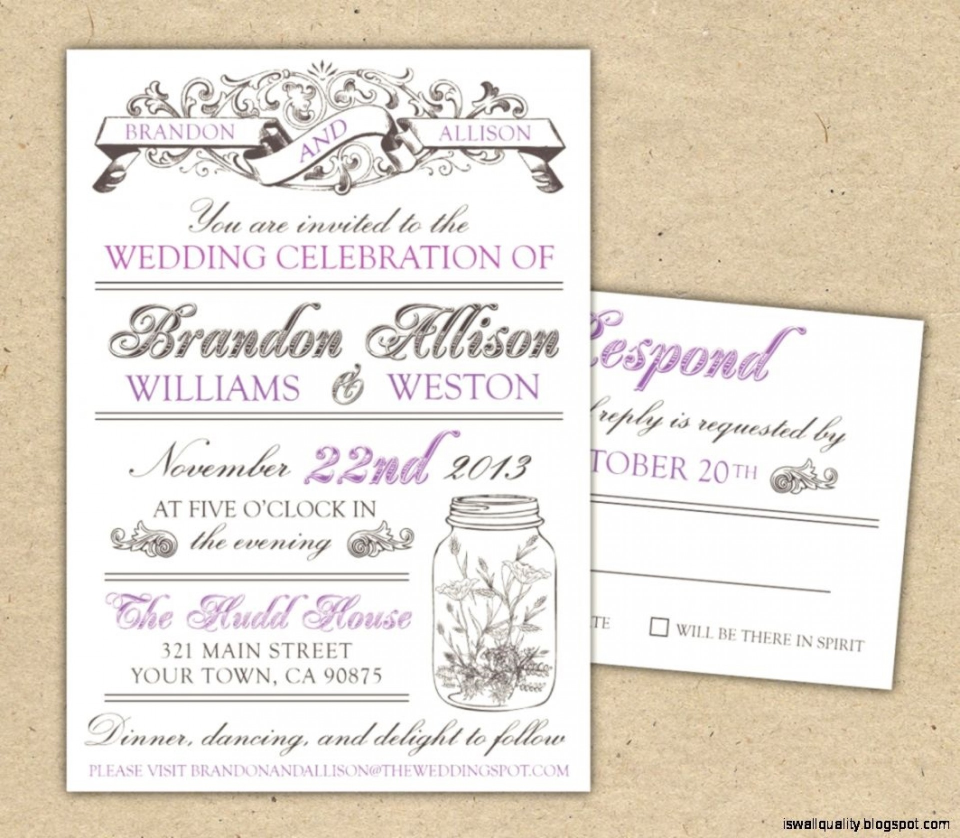 009 Awesome Wedding Invitation Template Free Example  Card Psd For Word Muslim 20071920