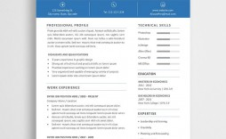 009 Awesome Word Resume Template Free Photo  Microsoft 2019 Best