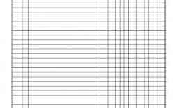 009 Awful Accounting Journal Entry Template Concept  Blank Download Free