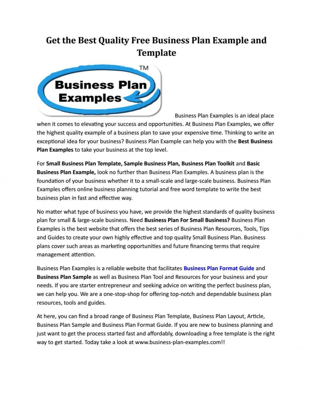 009 Awful Best Busines Plan Template Picture  Ppt Free DownloadLarge