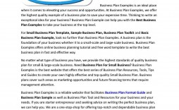 009 Awful Best Busines Plan Template Picture  Ppt Free Download
