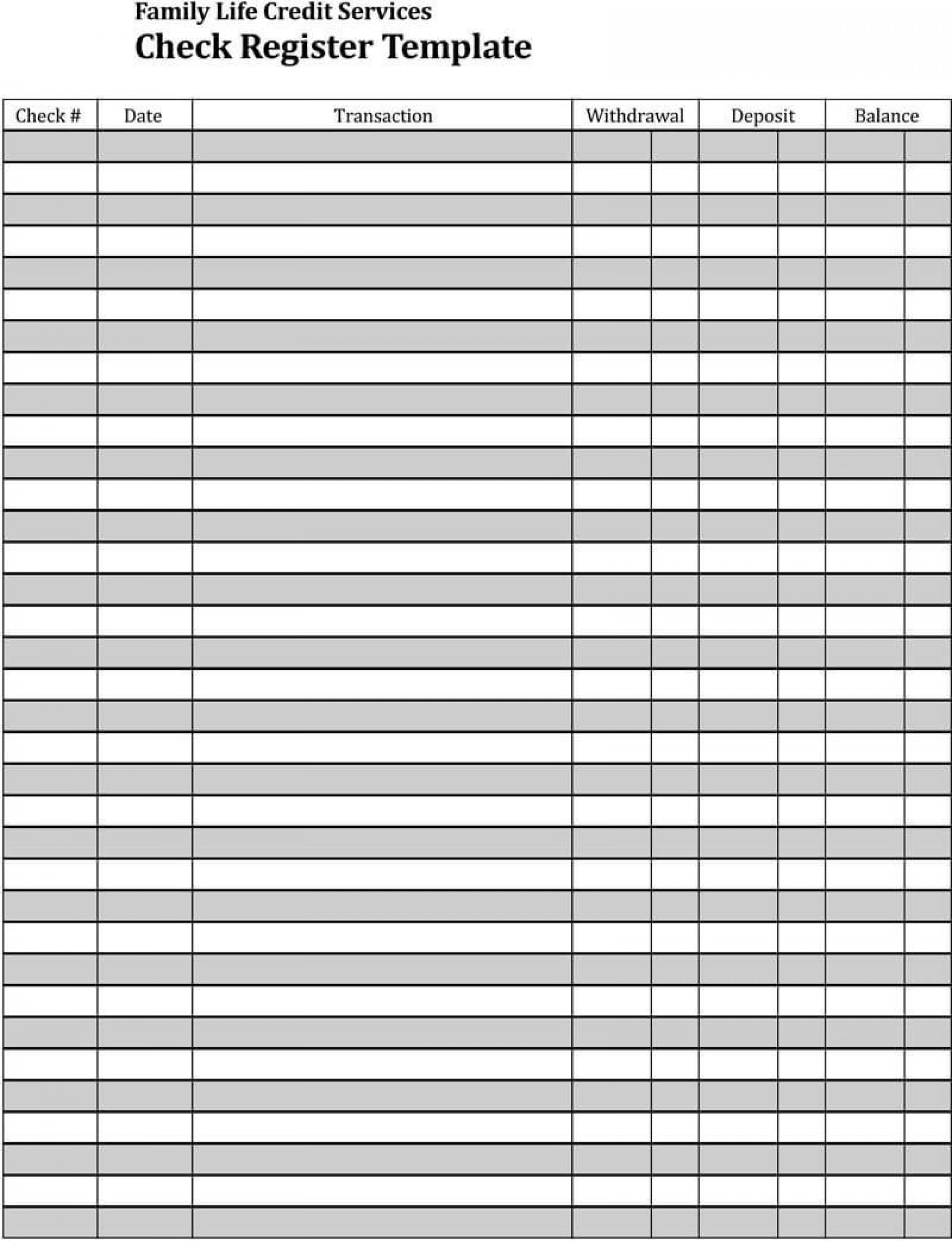 009 Awful Checkbook Register Template Excel Design  Check 2007 Balance 20031920