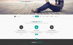 009 Awful Creative One Page Website Template Free Download Example