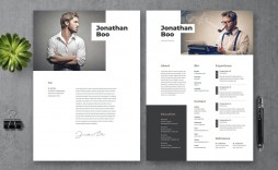 009 Awful Creative Resume Template Free Download Psd Picture  Cv
