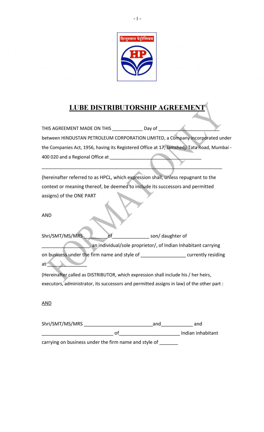 009 Awful Exclusive Distribution Agreement Template Free Download Inspiration Large