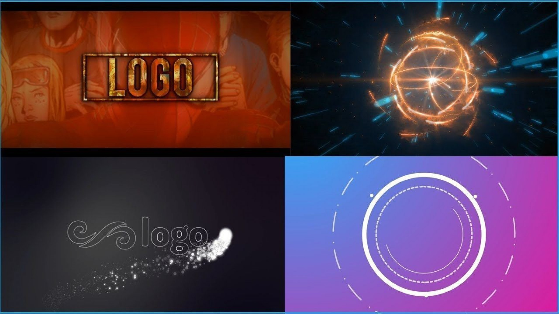 009 Awful Free After Effect Template Particle Logo Reveal Download Highest Clarity  -1920