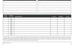 009 Awful Free Bill Of Lading Template High Def  Download Pdf Form