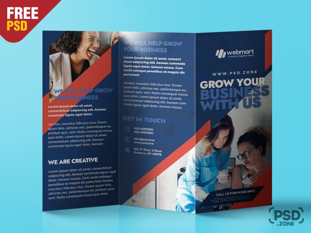 009 Awful Free Brochure Template Psd Example  A4 Download File Front And Back TravelLarge
