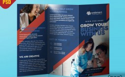 009 Awful Free Brochure Template Psd Example  A4 Download File Front And Back Travel