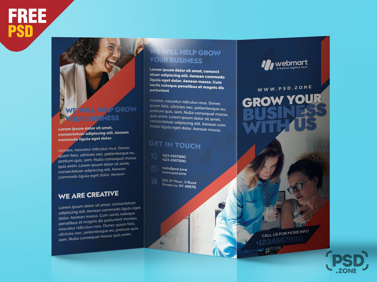 009 Awful Free Brochure Template Psd Example  A4 Download File Front And Back TravelFull